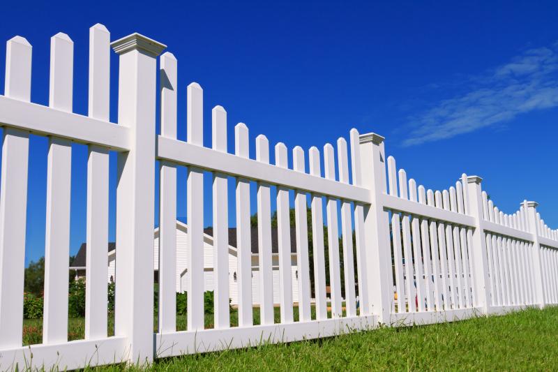 White Picket Fence Mr Fence It