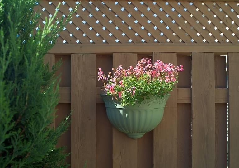 Decorative Privacy Fence